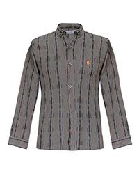 پیراهن مردانه مدل سون طرح ماهان