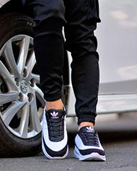 کفش ورزشی مردانه مدل شارک سفید و مشکی