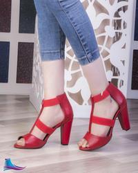 کفش پاشنه بلند دخترانه مدل 704