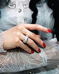 انگشتر نقره تایگر 925 عیار