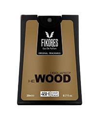 عطر جیبی مردانه فیکورس ایرسا مدل Dsquared He Wood حجم 20 میلی لیتر