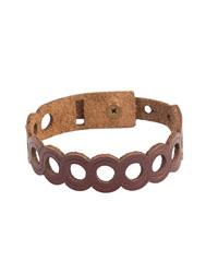 دستبند چرم طبیعی دایس