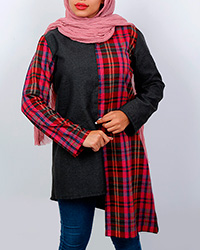 مانتوی پشمی زنانه شیدخت کد 9806
