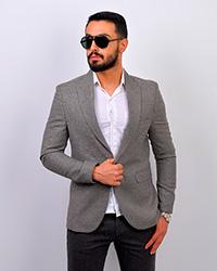 کت تک مردانه ساده مدل 4012