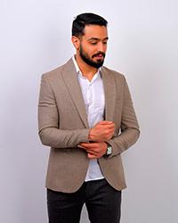 کت تک مردانه ساده مدل 4013