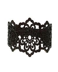 دستبند چرم برش دار سنتی آمیتیس