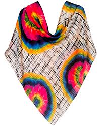 روسری زنانه نخی دور دست دوز کد FH-91860