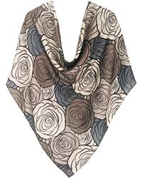 روسری زنانه نخی دور دست دوز کد SFH-93070