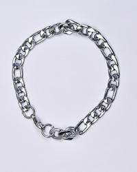 دستبند اسپرت نقره ای