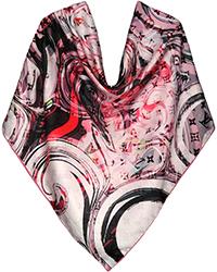 روسری زنانه نخ توییل دور دست دوز کد SFH-93460