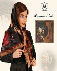 ۵ عدد روسری ابریشم دور دست دوز به قیمت عمده مارک  MASSIMO DUTTI