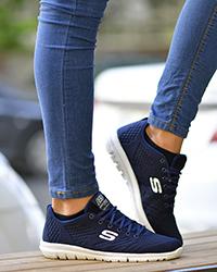 کفش پیاده روی مردانه مدل  S سرمه ای