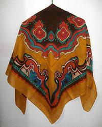 روسری نخی تابستانی