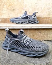 کفش پیاده روی مردانه طوسی مدل ESMLIES