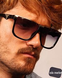 عینک آفتابی کائوچو Prada