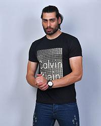 تی شرت مردانه مدل CALVIN CLEIN رنگ مشکی