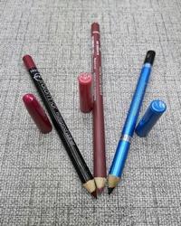 مداد چشم و خط لب کد 14 بسته ی 3 عددی