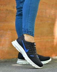کفش ورزشی مردانه مدل nike مشکی آبی