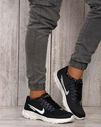 کفش پیاده روی مردانه nike zoom رنگ مشکی-آبی