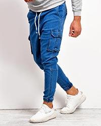 شلوار شش جیب جین مردانه