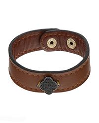 دستبند چرم ون کلیف آمیتیس