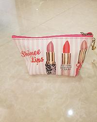 کیف آرایش طرح دار زنانه