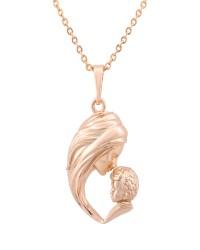 گردنبند زنانه کد N3043 رنگ طلایی کدیکتا 03-3691159