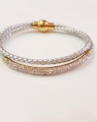 دستبند زنانه چرمی آمیتیس