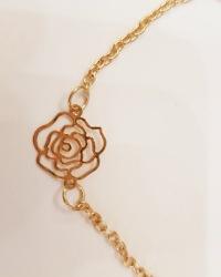 دستبند طرح گل آمیتیس