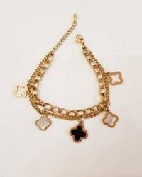 دستبند زنانه آویزدار آمیتیس