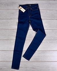 شلوار جین زنانه آبی تیره مدل beni