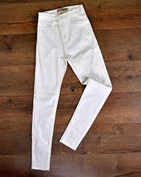 شلوار جین سفید زنانه مدل beni