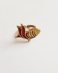 انگشتر طرح ماهی آمیتیس