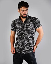 پیراهن مردانه مدل چریکی