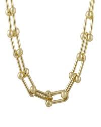 زنجیر زنانه مدل N1000 رنگ طلایی کدیکتا 41-5347210
