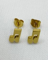 گوشواره زنانه مدل نت کد E1000 رنگ طلایی کدیکتا 08-5366927
