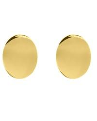 گوشواره زنانه مدل دایره کد E1700 رنگ طلایی کدیکتا 46-5367153
