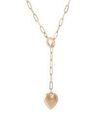گردنبند زنانه مدل قلب کد N3249 رنگ طلایی کدیکتا 21-5417862