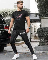 ست تیشرت شلوار Nasa مردانه مدل Roxy