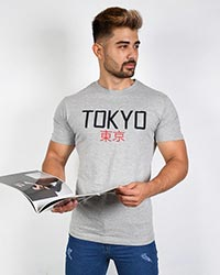 تی شرت مردانه مدل TOKYO