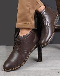 کفش مردانه مدل K.BAZ.133 رنگ قهوه ای