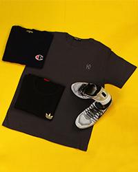 مجموعه تیشرت سه عددی ny diesel adidas