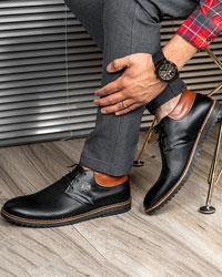 کفش تخت مردانه سوزنی مدل victor