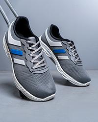 كفش ورزشي مردانه طوسي مدل Maverik