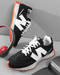 كفش ورزشي مردانه مشكي New Balance مدل Kanava