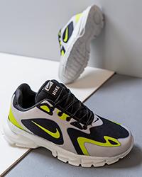كفش ورزشي سفيدسبز مردانه Nike مدل Bevis