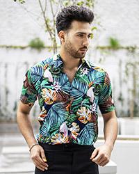 پيراهن هاوايي مردانه مدل Peder
