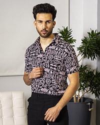 پيراهن هاوايي مردانه مدل Lariv