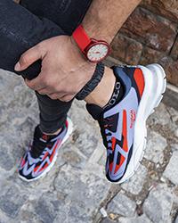 كفش ورزشي ريبوك طوسي قرمز مردانه مدل Ervan