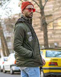 كاپشن مردانه مدل Fardad